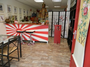 Interieur tattooshop